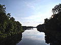 View on Machnower See from the bridge 2 2014.JPG