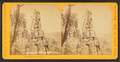 Views at Devil's Lake, Wisconsin. (Cleopatra's Needle in Wonder Notch.), by Zimmerman, Charles A., 1844-1909.png