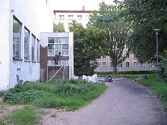 Vyborg Library - Restoration work proceeding in 2005