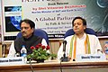 "Vilasrao Deshmukh at the releasing of the Book ""A Global Parliament"", in New Delhi on May 16, 2012. The Member of Parliament, Shri Shashi Tharoor is also seen.jpg"