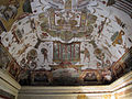 Villa medici, studiolo del cardinale, grottesche volta 04.JPG