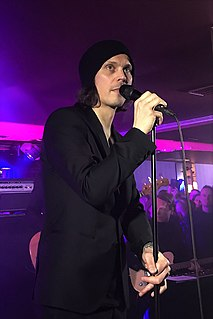 Ville Valo Finnish rock musician