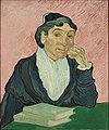 Vincent van Gogh - L'Arlesienne (Madame Ginoux), 1890.jpg