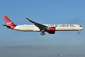 Virgin Atlantic, G-VJAM, Airbus A350-1041 (49585307293).jpg