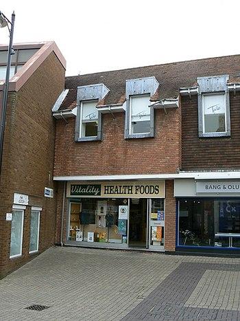 English: Vitality Health Foods - Wote Street