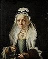Vittore Ghislandi - Portret van een oude dame.jpg
