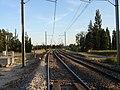 Voie de chemin de fer sur D90 vers Cavaillon by JM Rosier.JPG