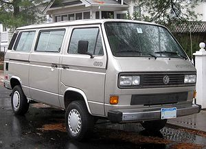 Volkswagen Vanagon photographed in College Par...