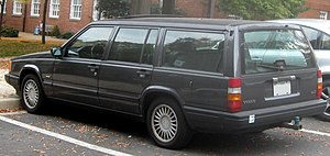 Volvo 940 photographed in College Park, Maryla...