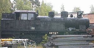 0-10-0 - VR Class Vr3 no. 753, stored at Haapamäki in Finland