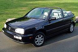 Golf Iii Cabriolet årsmodell 1994 Till 1998