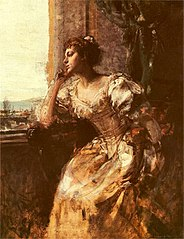 Dama przy oknie