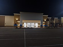 Ross Store In Lewisville, being prepared for opening.