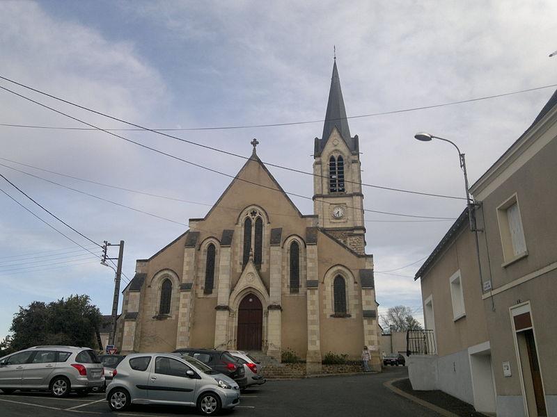 Église Notre-Dame, Fr-49-Chalonnes-sur-Loire.