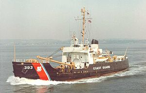United States Coast Guard Cutter - USCG buoy tender Firebush