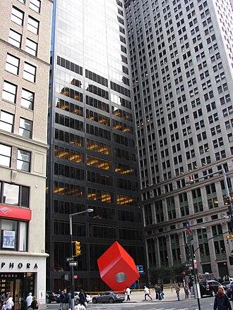Marine Midland Bank - Marine Midland Building, at 140 Broadway in Manhattan