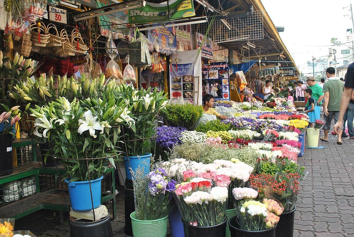 Dangwa Flower Market Wikipedia