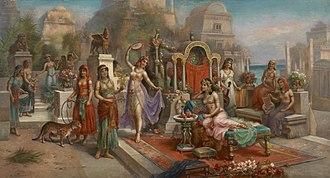 Hanging Gardens of Babylon - Hanging gardens of Semiramis, by H. Waldeck
