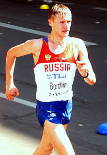 Valeriy Borchin race walker from Russia