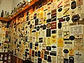 Wall of Scotch Whisky Lables.jpg
