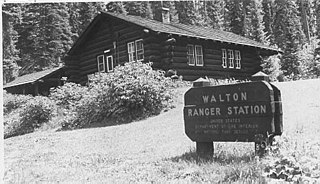 Walton Ranger Station Historic District Ranger station