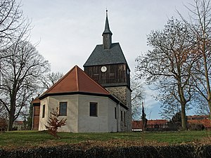 Wandlitz - Image: Wandlitz evangelische Kirche
