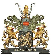 Helmed coat-of-arms of King William I (Source: Wikimedia)