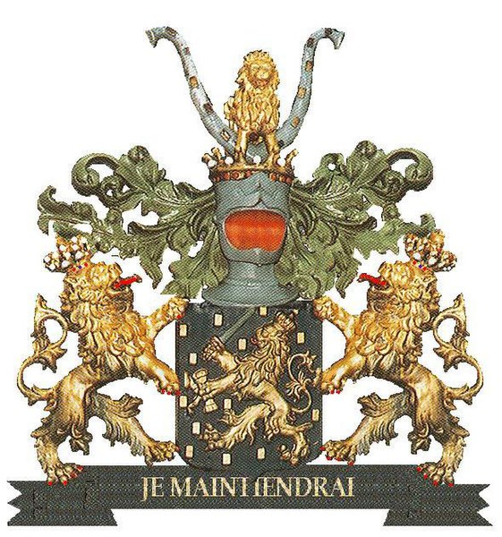 File:Wapen van Koning Willem I met helmteken.jpg