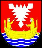 Das Wappen von Neustadt in Holstein
