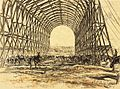War Drawings by Muirhead Bone- a Stable on the Western Front Art.IWMREPRO00068452.jpg