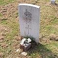 War Grave in Hessle Cemetery - geograph.org.uk - 1279765.jpg