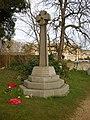 War Memorial, All Saints Church, Elton - geograph.org.uk - 1203968.jpg