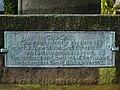 War Memorial, Hurst Green, (Boer War 1899-1902), Plaque - geograph.org.uk - 747380.jpg