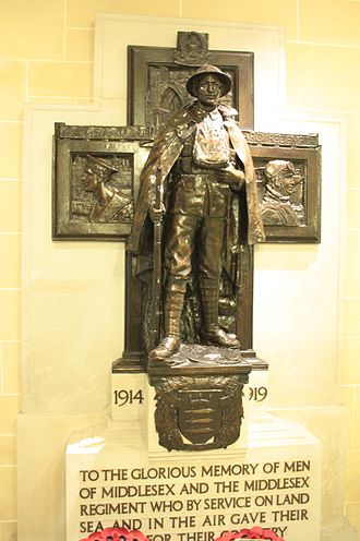 Richard Reginald Goulden - War Memorial by Richard Goulden, Supreme Court of UK, Westminster, London
