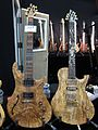 Warrior guitars, figured top, thinline, 2010 Summer NAMM.jpg