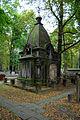 Warszawa Reduta Wolska - cmentarz prawosławny - kaplica grobowa 01.jpg