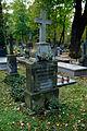 Warszawa Reduta Wolska - cmentarz prawosławny - nagrobek z 1894 roku 01.JPG