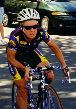 Kathy Watt in de Women's Challenge 1999