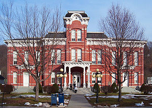 Honesdale, Pennsylvania - The Wayne County Courthouse in Honesdale.