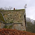 Weathervane on the lodge, Cavendish Pavilion, Bolton Abbey - geograph.org.uk - 676674.jpg
