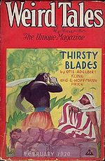 Weird Tales cover image for February 1930