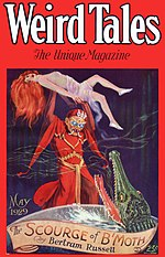 Weird Tales cover image for May 1929