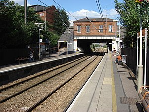 West Hampstead railway station - Image: West Hampstead railway station 2
