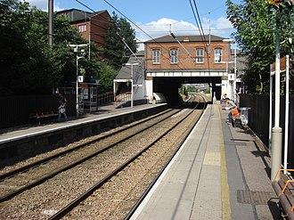 West Hampstead railway station - Image: West Hampstead railway station 2