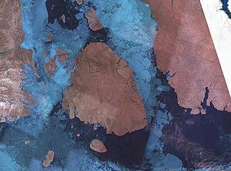 Cornwallis Island (Nunavut) - NASA Landsat photo of Cornwallis Island