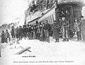 White Pass & Yukon Route's first passenger train reaches the White Pass summit, Klondike Gold Rush National Historical Park, 1899. (04ad21437ae24db1af527d2e2838d41c).jpg