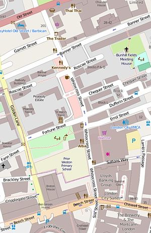 Whitecross Street - The immediate vicinity of Whitecross Street