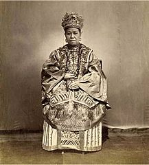 Wife of Chinese Official by Lai Afong c1870s.jpg