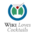 Wiki Loves Cocktails logo symbol.png