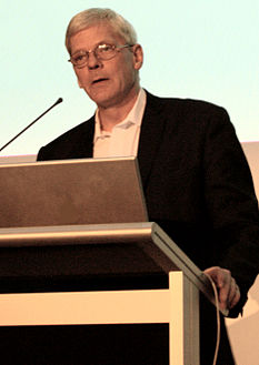 Kristinn Hrafnsson speaks in Brisbane, Australia in June 2011.